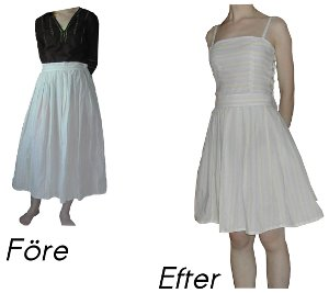 Kjol till klänning